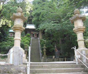 走水神社入口