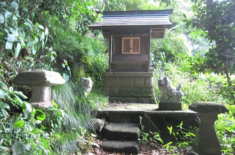 叶神社,金毘羅大権現遥拝所