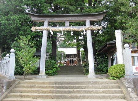 比々多神社の鳥居