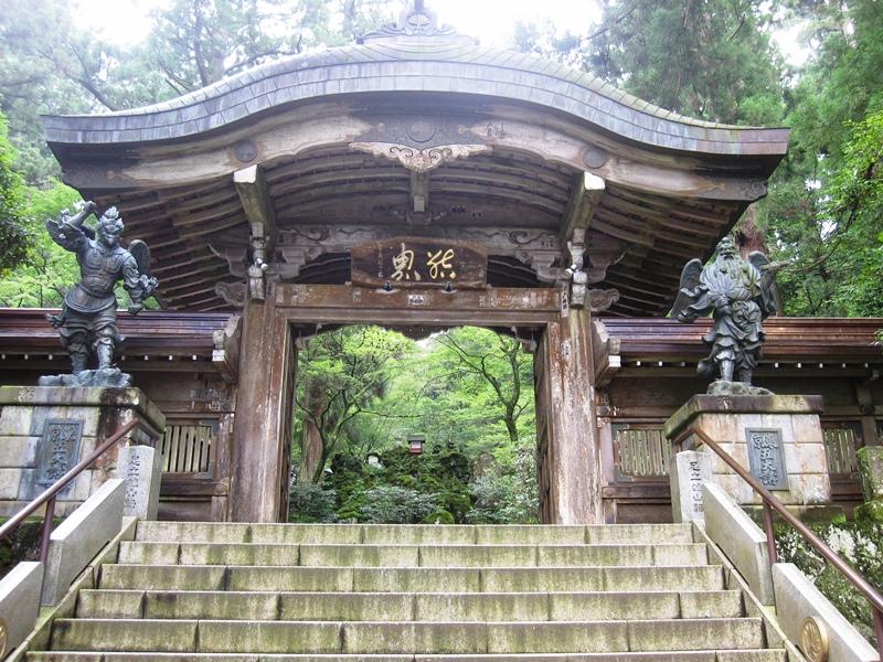 最乗寺の結界門