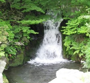 信しげの滝,東口本宮冨士浅間神社