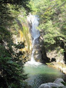 昇仙峡の仙娥滝