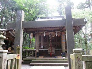 最乗寺,奥の院