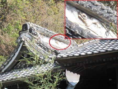 白髭神社の龍